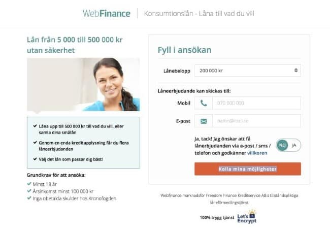 Freedom Finance Kreditservice AB
